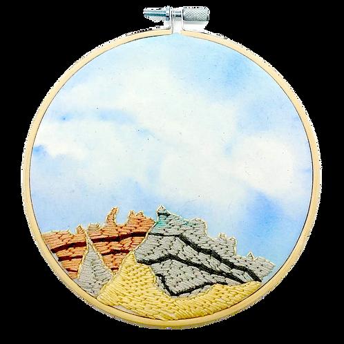 Badlands Embroidery Hoop
