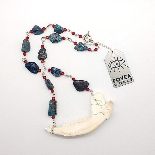 Fovea Works Oppossum Jawbone Necklace