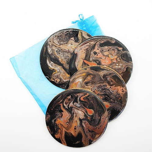Acrylic Coaster Set (4pc)