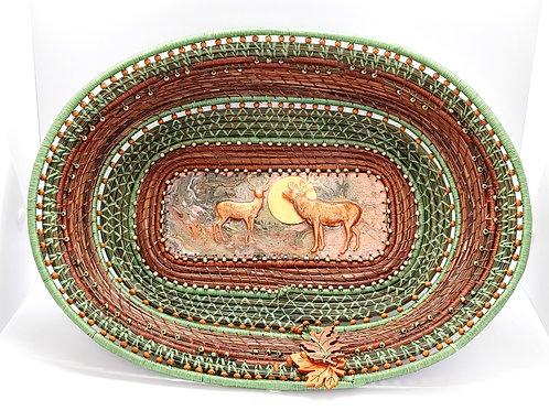 Deer Weave Basket