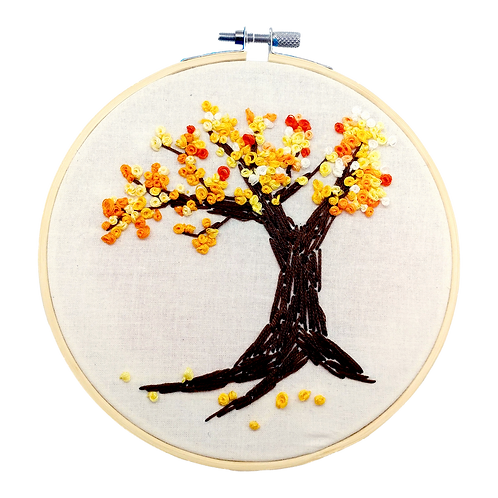 Tree Embroidery Hoop