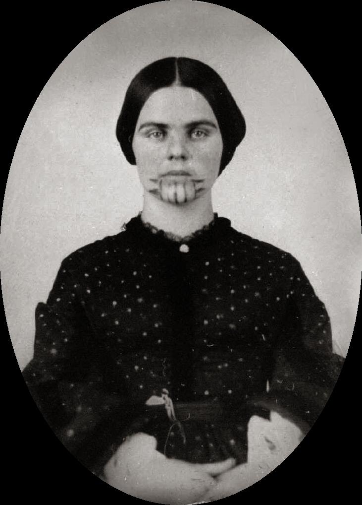 Olive Oatman,1857