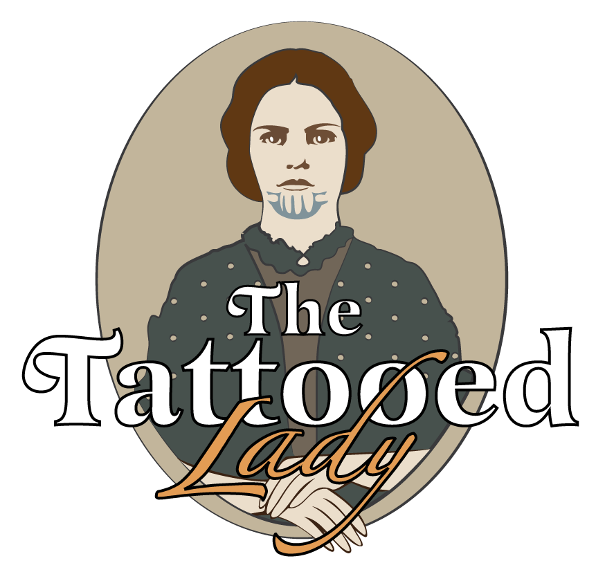 The Tattooed Lady Logo