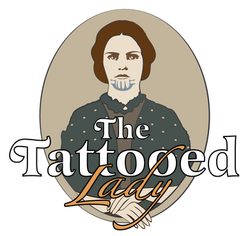 The Tattooed Lady Logo