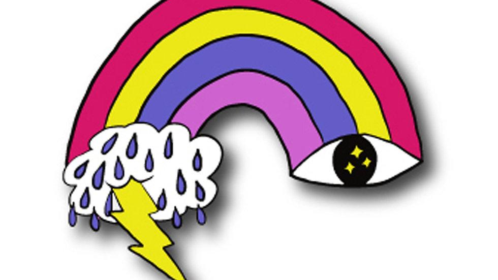 Eye Sky Pin