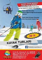 Polidia Tour ile Davraz-Salda Kayak Turları