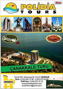 POLİDİA TOURS İLE SÜREKLİ ÇANAKKALE TURU