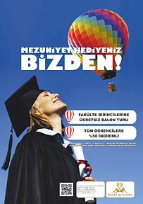 Pisidia Balloons Makü Mezunlarını Uçuruyor