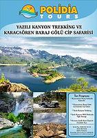 Yazılı Kanyon Trekking ve Karacaören Baraj Gölü Cip Safarisi