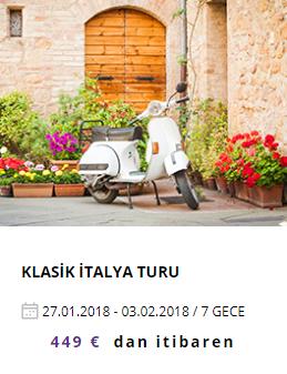 Klasik İtalya Tur Programı