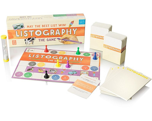 THE LISTOGRAPHY GAME