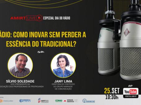 Amirt Live: Jany Lima e Silvio Soledade falam sobre inovações do rádio tradicional