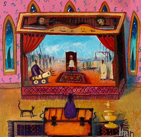 The Sultan's Puppet Show