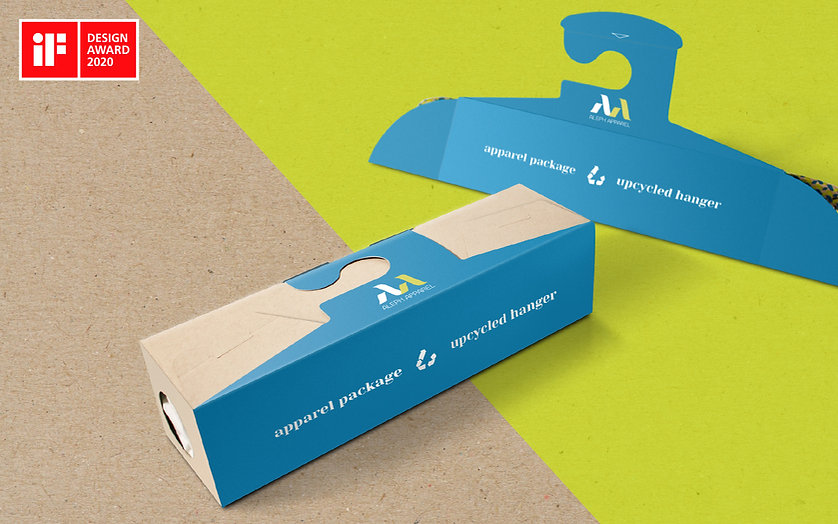 ADDLESS DESIGN STUDIO - ALEPH APPAREL upcycle box 1 IF AWARD