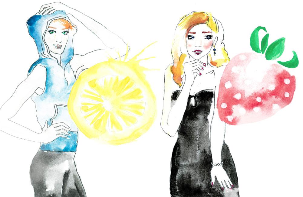 Fruit Girls pt 2
