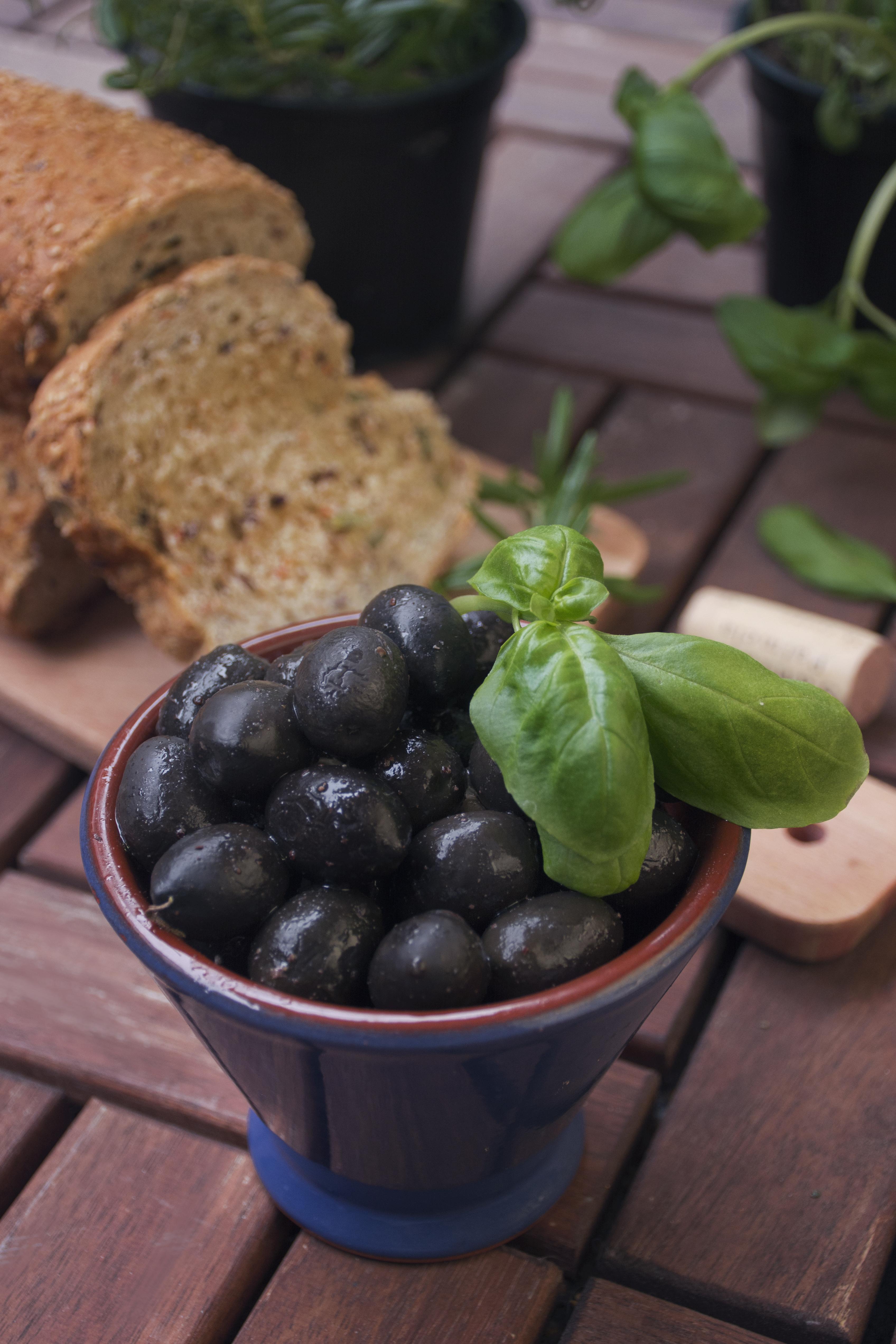 Basil & Olives