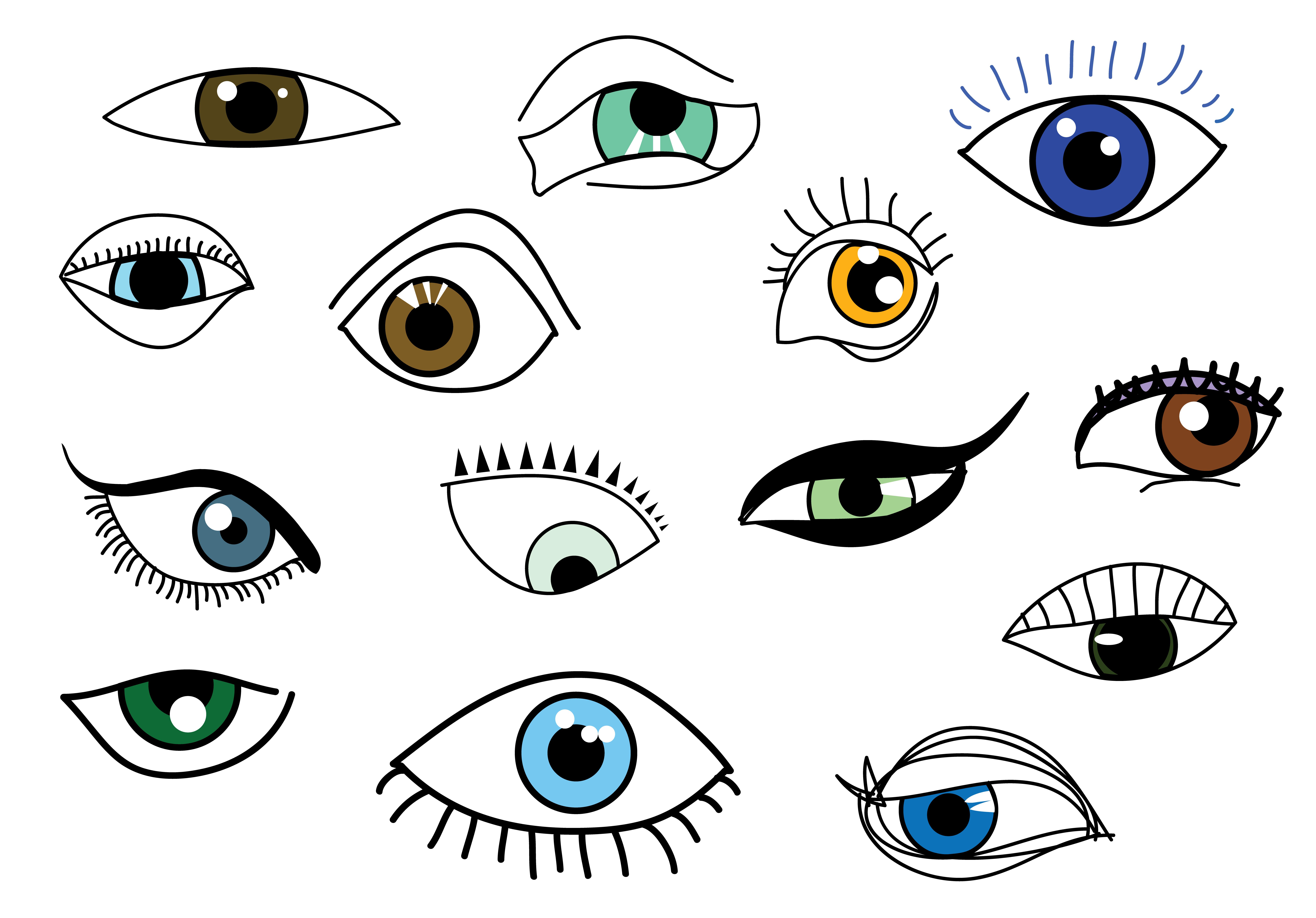 Eye game