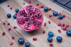 Pomegranate-Blueberry dance
