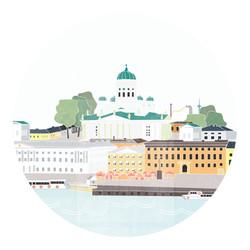 Helsinki - illustration