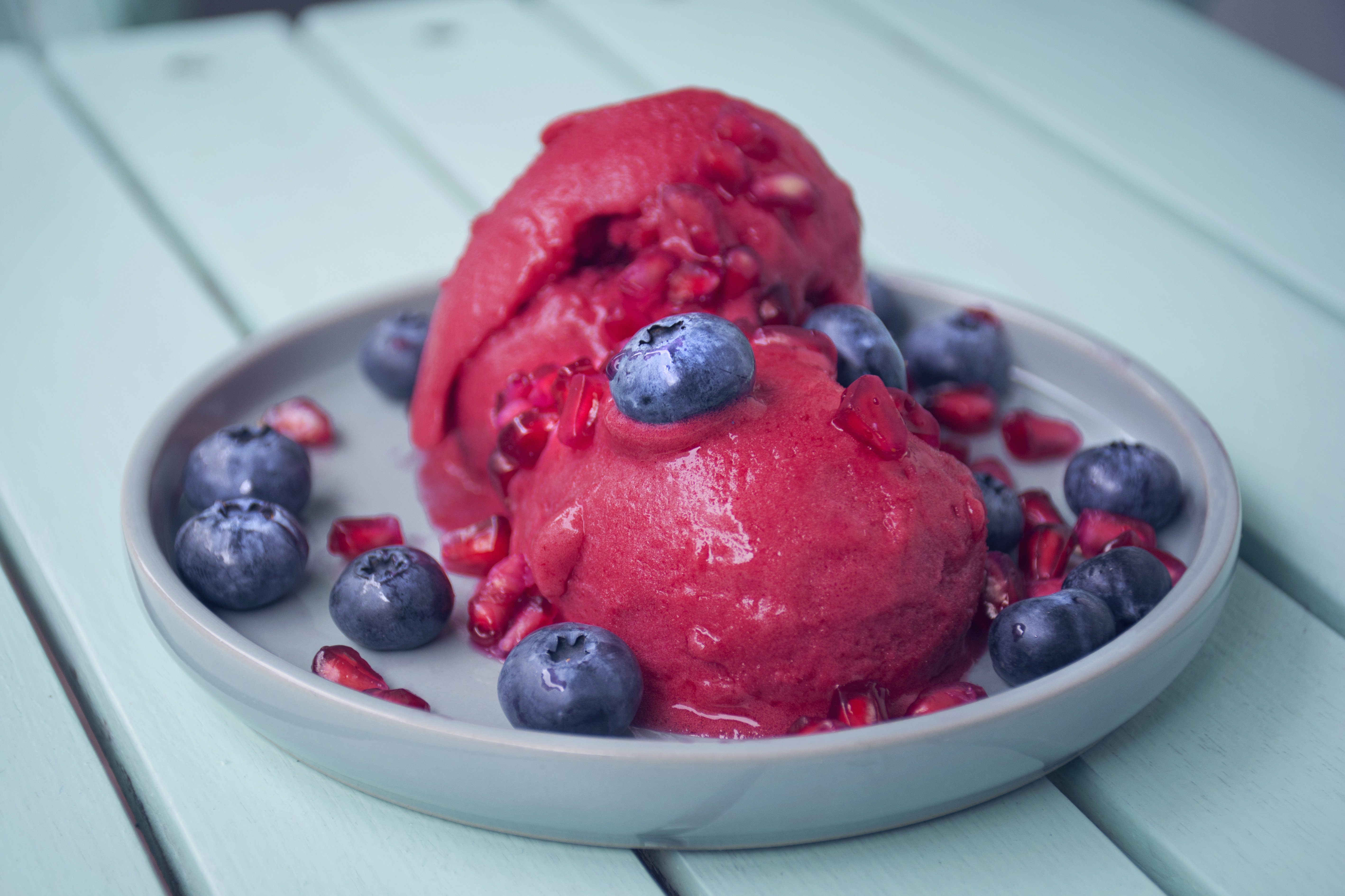 Fancy some Pomegranate Sorbet?