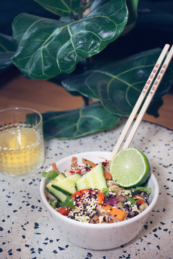Spicy Thai Vermicelli Peanut Salad