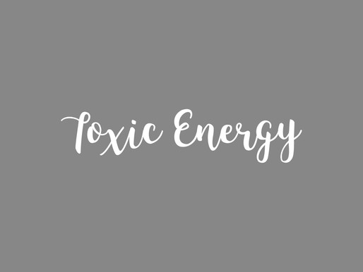 5 Toxic Energy Suckers to Rid from Your Life Today!