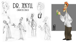 Character Design - Dr Jekyll