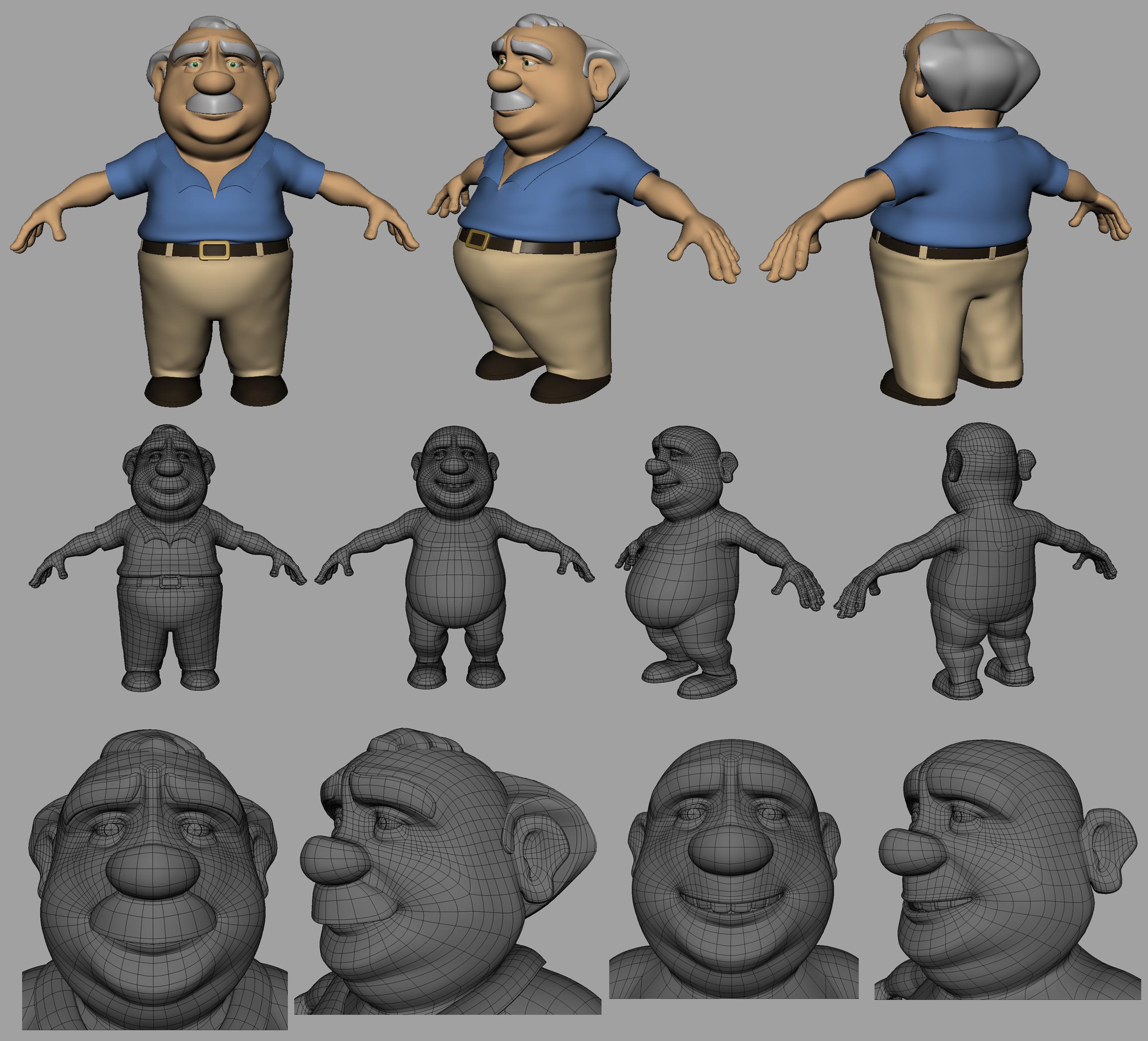 DAVE - 3D MODEL