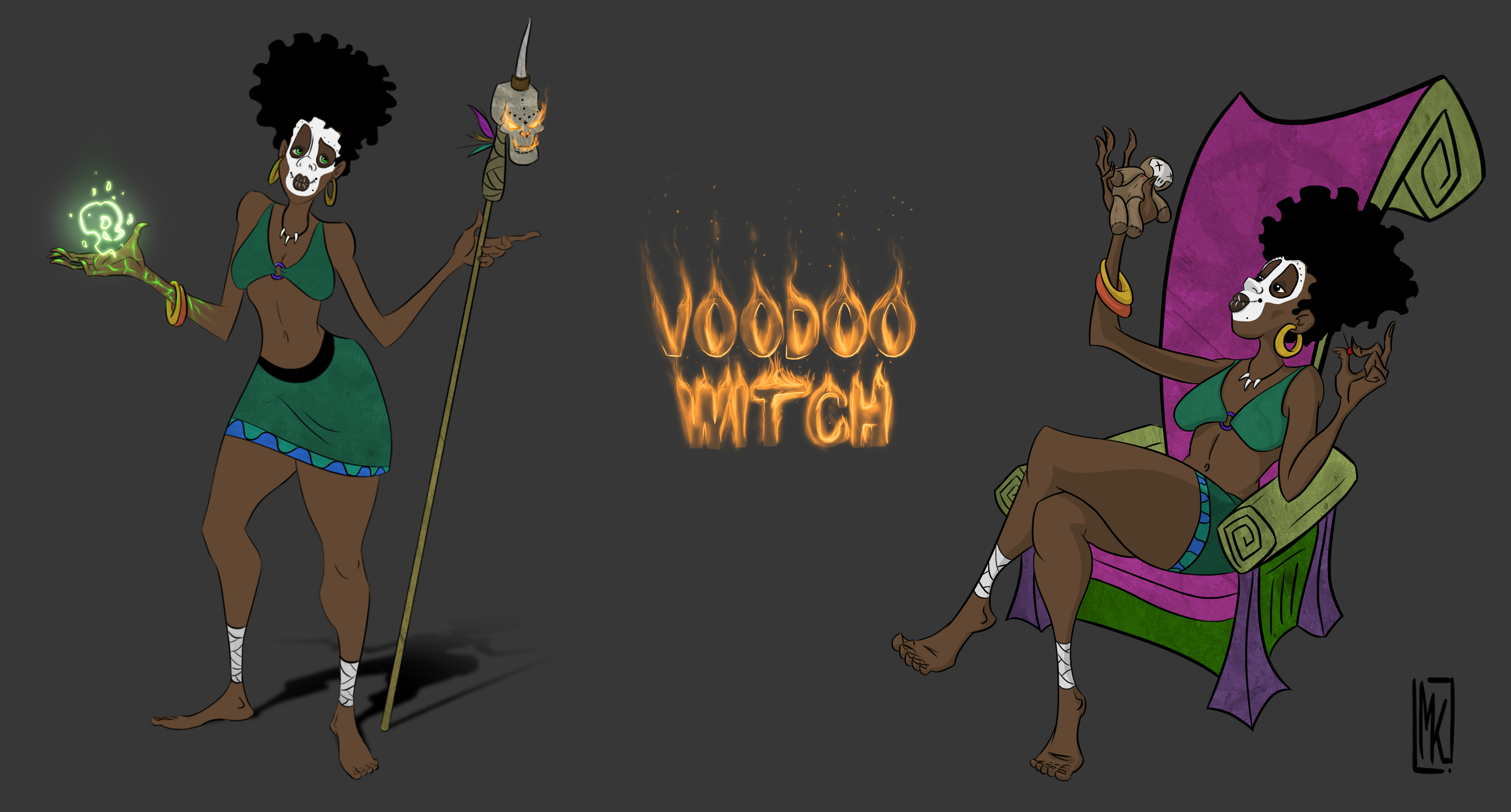Character Concept - Voodoo Witch
