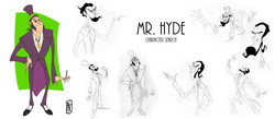 Character Design - Mr Hyde