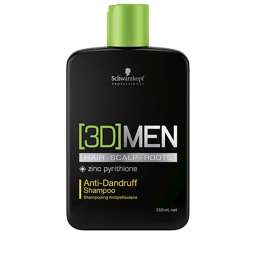 3DMen Shampooing Anti Pelliculaire 250ml