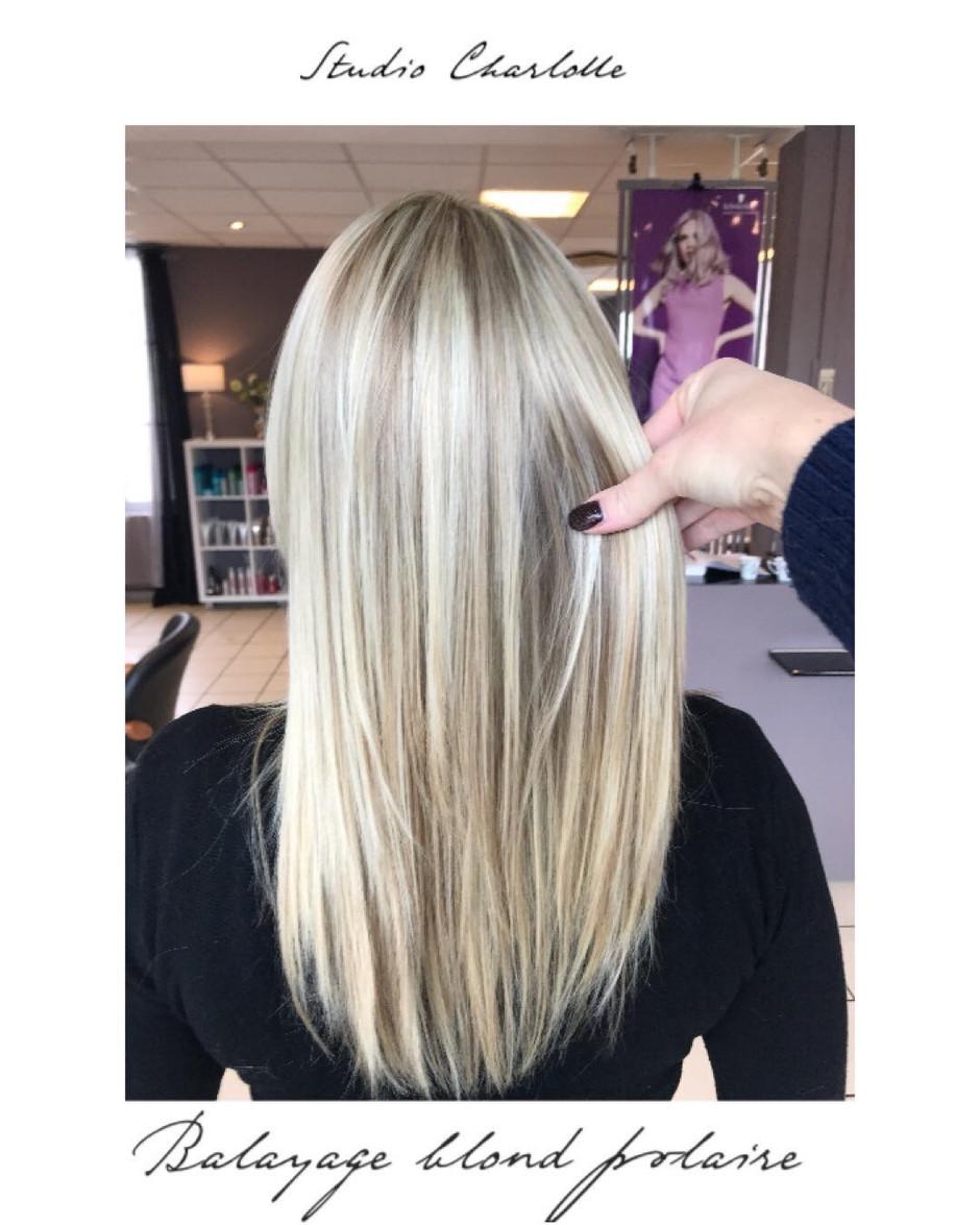 Balayage blond polaire ❄️