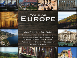 Tour of Europe - A Photographic Tour of 10 Countries