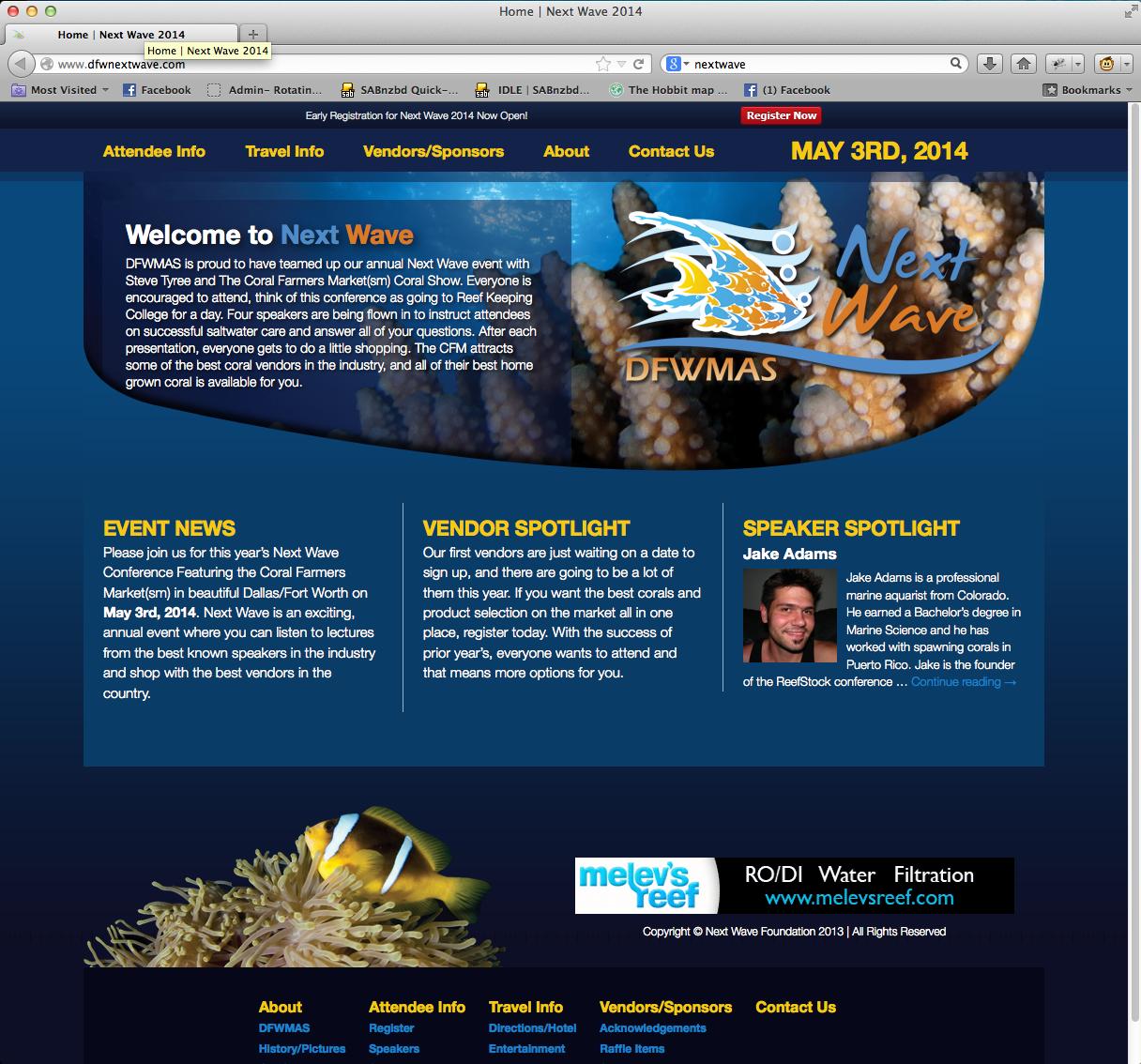 Next Wave Website