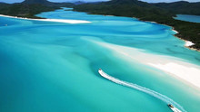 Whitehaven Beach and the Whitsunday Islands