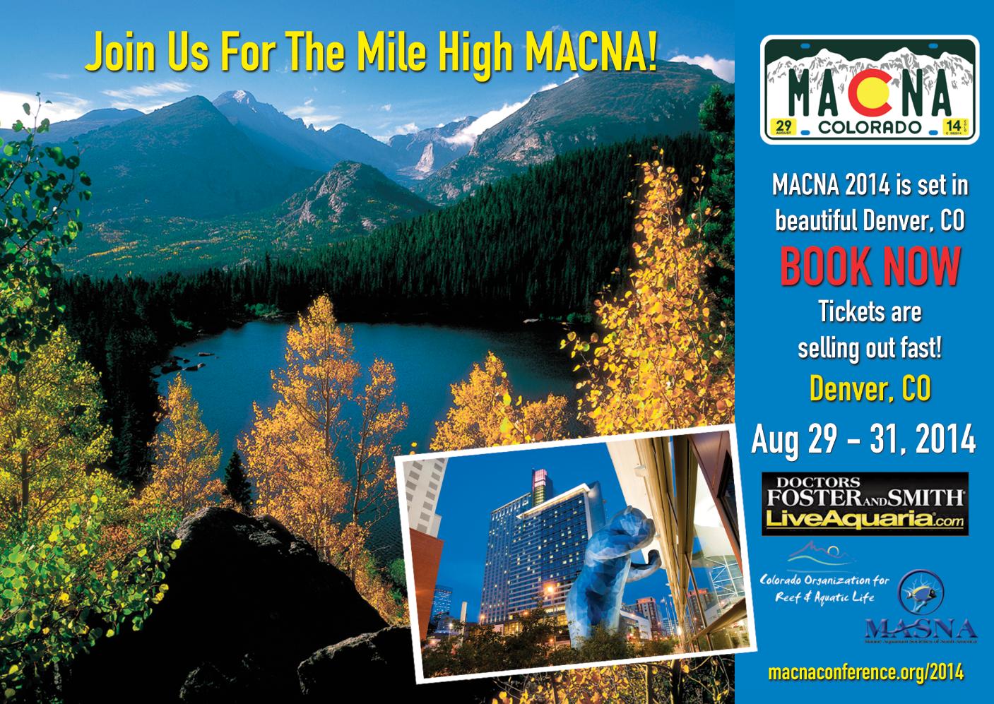 Front of Postcard for Denver Macna