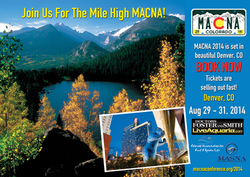 Front of Postcard for Denver Macna