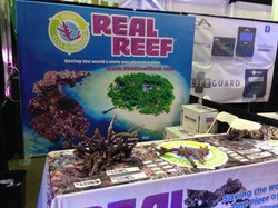 Real Reef Tradeshow Booth