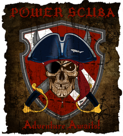 Power Scuba Logo
