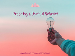 Becoming a Spiritual Scientist
