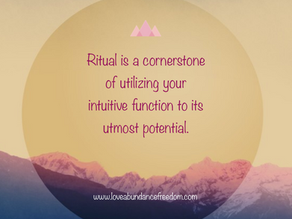 Modernizing Rituals – How to Up Your Intuition Game