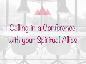Calling in a Spiritual Conference