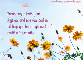 Get Grounded – Running Physical and Spiritual Energies