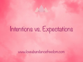 Intentions vs. Expectations