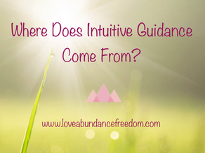 Where Does Intuitive Guidance Come From?