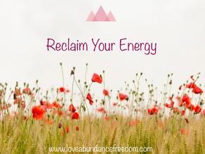 4 Ways to Reclaim Your Energy