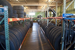 Truck tires and truck parts