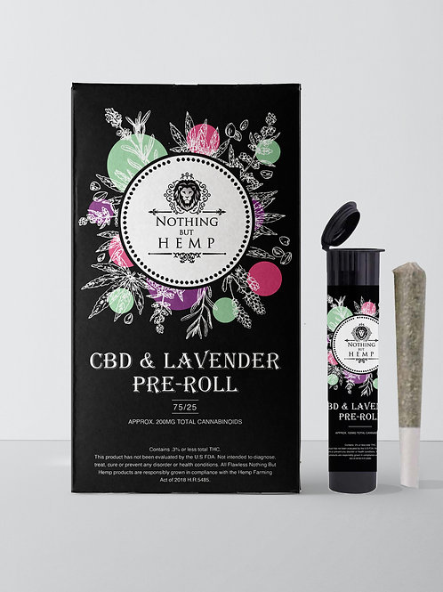 CBD and Lavender Pre-Roll  Craft | 9 Grams