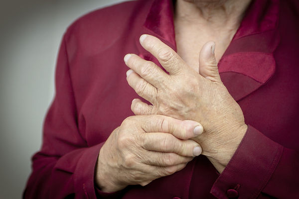 Person with Rheumatoid Arthritis