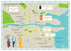 Bloomsday map design
